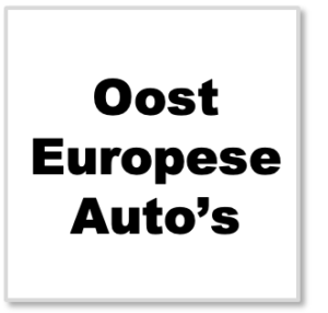 Oost Europese Auto's